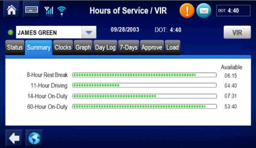 Omnitracs Hours Of ServiceApplication